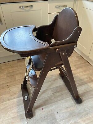 £8.60 • Buy Wooden High Chair Baby Toddler