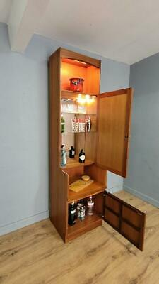 £150 • Buy Mid Century Wall Unit Drinks Cabinet Display Book Shelves By Nathan Retro Chic