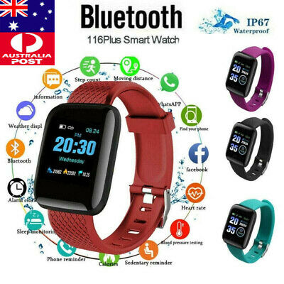 AU7.95 • Buy Smart Watch Band Sport Activity Fitness Tracker For Kids Fit# Bit Android IOS AU