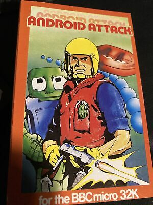 £7 • Buy Android Attack BBC Micro 32k Cassette