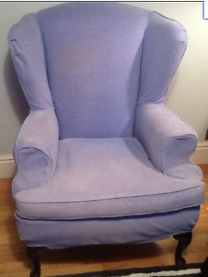 £180 • Buy Richmond Wing Chair. Shaw & Alexander.designers Guild Bluebell. See All Photos.