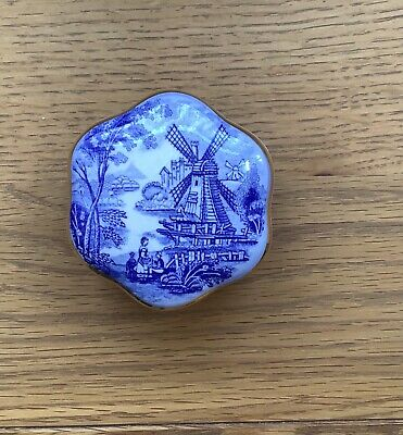 £4.99 • Buy Royal Worcester, Royale Collection Windmill Trinket Box