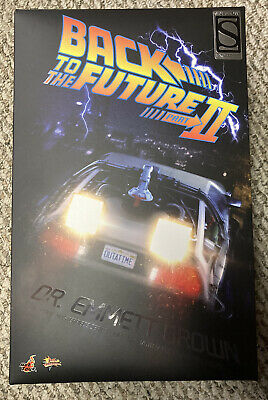 $ CDN881.19 • Buy Hot Toys MMS 380 Back To The Future II 2 Dr. Doc Emmett Brown Sideshow Exclusive