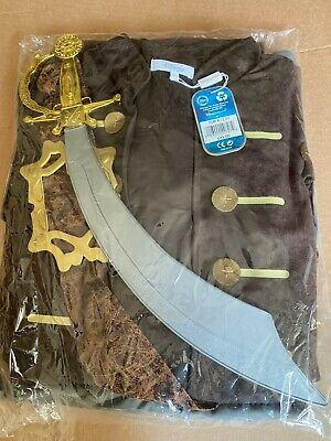 $41.24 • Buy Disney Store Jack Sparrow Mens Costume Size Medium 32-34  - Brand New With Tags