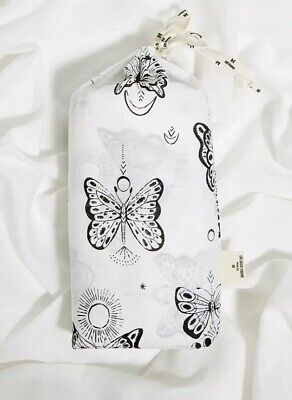 £29.95 • Buy 🌈UO Urban Outfitters 100% Cotton Butterfly Double Duvet Cover Set 2 Pillowcases