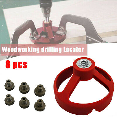 £15.31 • Buy 90 Degree Drill Guide 5/6/7/8/9/10mm Bit Hole Puncher Locator-Hinged Woodworking