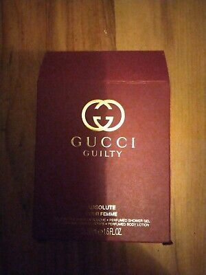 £29.99 • Buy Gucci Guilty Absolute Pour Femme Perfumed Shower Gel & Perfumed Body Lotion 50ml