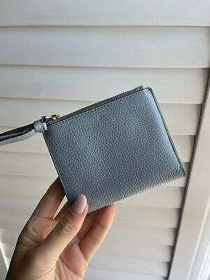 £7 • Buy Kate Spade Baby Blue Leather Wallet Purse
