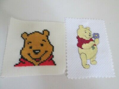 £1.99 • Buy Finished Cross Stitch Pieces - Winnie The Pooh