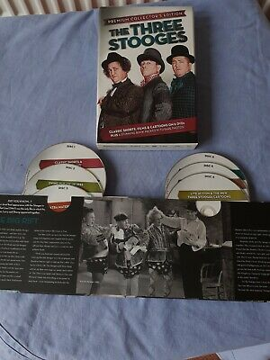 £1.70 • Buy The Three Stooges Premium Collection 6 DVD's In Stunning Book Boxed