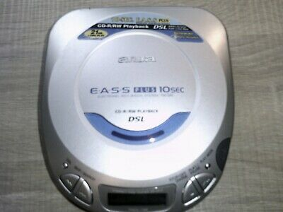 £9.65 • Buy Aiwa Model No XP-V412 Personal CD Player Including Brand New Earphones