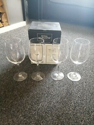£30 • Buy Royal Worcester Grand Chateau Red Wine Glasse. Set Of 4