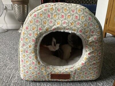 £20 • Buy Cath Kidston Cat/Dog Igloo Bed Provence Rose With Luxury Comfort Inner.