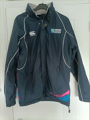 £15 • Buy England 2015 Rugby World Cup Fleece Lined Jacket Small Size 44 Inch Canterbury M