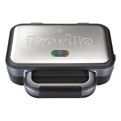 £22.99 • Buy Breville Deep Fill Sandwich Toaster Removable Easy Clean Plates VST041 BRAND NEW
