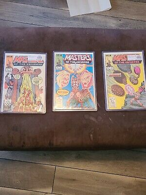 $50 • Buy Star Comics Masters Of The Universe 1- 3 VG 8 - 9