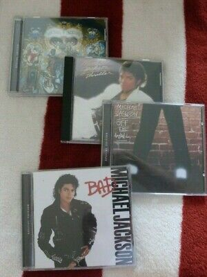 £0.99 • Buy 4 X MICHAEL JACKSON CD ALBUMS Inc BAD / THRILLER / OFF THE WALL / DANGEROUS 99p