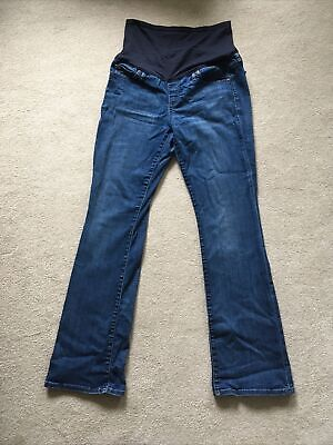 £2.50 • Buy Blue Gap Over The Bump Maternity Jeans Size 12