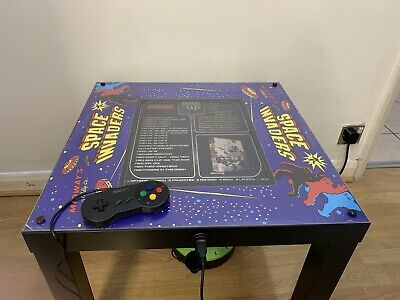 £289.99 • Buy Arcade Machine / Coffee Table With 8000 Games Installed. Pac-Man Space Invaders.