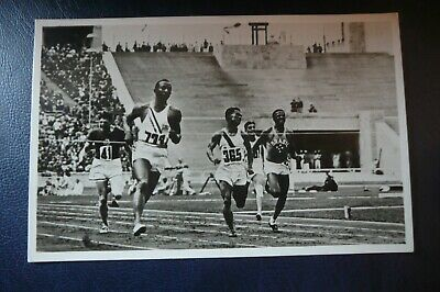 £225 • Buy Jesse Owens 1936 Berlin Olympics Official Postcard In Superb Condition