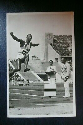 £150 • Buy Jesse Owens 1936 Berlin Olympics Official Postcard In Nice Condition