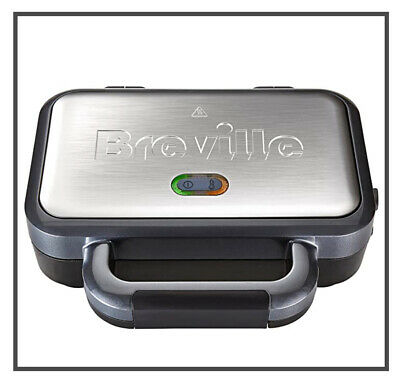 £27.95 • Buy Breville Deep Fill Sandwich Toaster Removable Easy Clean Plates VST041 Silver