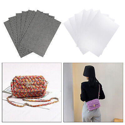 £13.75 • Buy 6PCS Mesh Plastic Canvas Sheets For DIY Crafts Embroidery Crochet Projects
