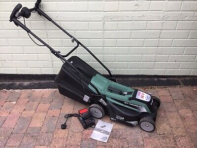£250 • Buy NEW Bosch Easy ROTAK 36-550 Cordless LAWNMOWER Charger,2 Batteries