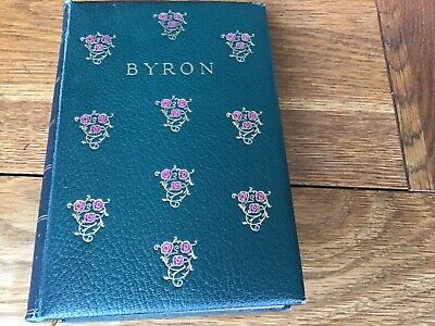 £2 • Buy The Poetical Works Of Lord Byron (Oxford Edition, 1911, Leather Bound)