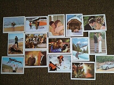 £4.99 • Buy James Bond 15 Anglo Confectionery Collect Cards.On Her Majesty's Secret Service.