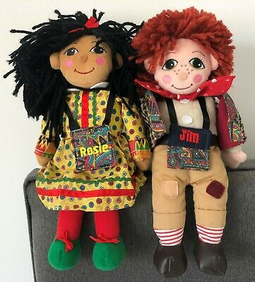 £26 • Buy Rosie And Jim Rag Dolls  1999 Excellent Condition 10 Inches Tall
