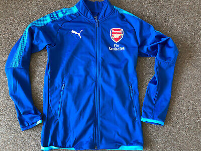 £9.99 • Buy Arsenal Puma Player Issue Warm-up Jacket Size Small Brand New