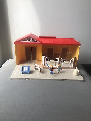 £10 • Buy Playmobil 5348 Carry Along Horse Stable / Farm - Pack Away Role Play Animal Toy