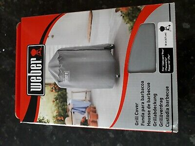 $ CDN31.07 • Buy Weber 18  47cm Grey BBQ Grill Cover Breathable Water Resistant 7175.BRAND NEW