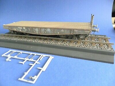 £23.30 • Buy 1/35 Dragon Rail Flat Wagon Tank Transporter With Trumpeter Track BUILT PAINTED