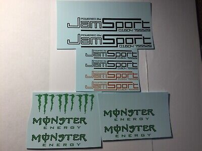£4 • Buy 1/18 Scale Modified Tuning SPONSOR Waterslide Decals Pack 3