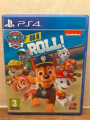 AU30.22 • Buy PS4 Kids Game Paw Patrol On A Roll (Playstation 4, 2018)