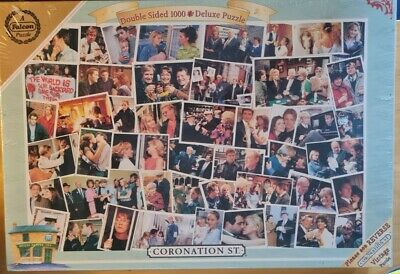 £10.99 • Buy Coronation Street 1000 Piece Double-sided Jigsaw Puzzle. See Description.