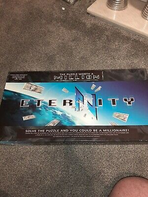 £5 • Buy Eternity The Puzzle Worth A Million Board Game