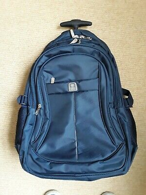 £8 • Buy Wires Italy Wheeled Backpack Rucksack Trolley Cabin Travel Camping Bag