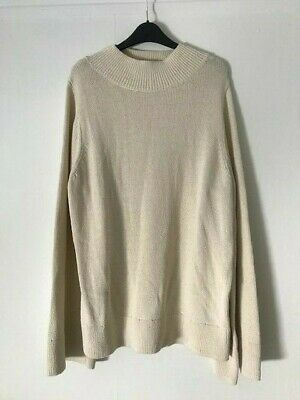 £19.99 • Buy COS Cream Slouchy Knit Jumper Size M