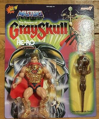 $41.61 • Buy HE-RO Masters Of The Universe Super7 Vintage Collection MOTU POWERS OF GRAYSKULL