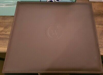 $ CDN60.59 • Buy Constantin Weisz Watch Case Box 6 Space Brown Faux Leather Finish