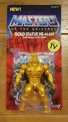 $66.57 • Buy Gold Statue He-Man Masters Of The Universe Super7 Vintage Collection MOTU POWERS