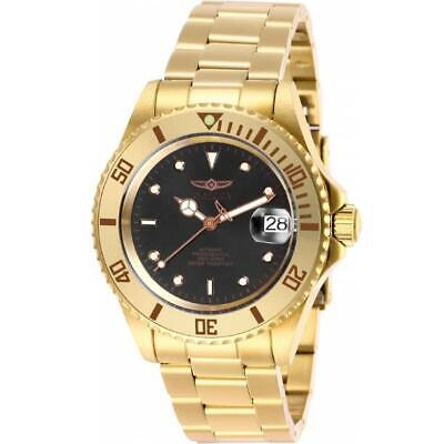$ CDN81.81 • Buy Invicta Grand Diver Connection 28664 Men's Gold-Tone Analog Automatic Date Watch