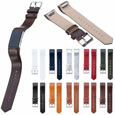 AU10.76 • Buy For Fitbit Charge 2 Genuine Leather Replacement Strap Wrist Watch Band Bracelet