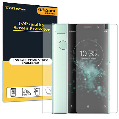 $ CDN10.37 • Buy Screen Protector For Sony Xperia XA2 Plus Front And Back TPU FILM Cover