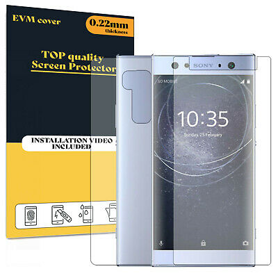 $ CDN10.37 • Buy Screen Protector For Sony Xperia XA2 Ultra Front And Back TPU FILM Cover