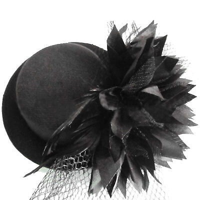 £5.15 • Buy Ladies Steampunk Mini Top Hat Mad Hatter Fancy Dress Costume Wedding Party