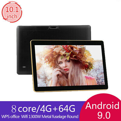 AU107.62 • Buy 10.1'' Inch Gaming Tablet PC Android 9.0 Octa Core Dual Camera Wifi 64GB